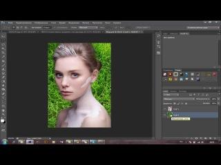 Красивый бодиарт в photoshop cs6
